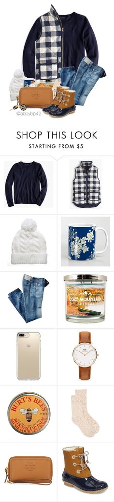 """""""January Contest!! Rtd for details!❄️"""" by abbybp42 ❤ liked on Polyvore featuring J.Crew, AG Adriano Goldschmied, SONOMA Goods for Life, Speck, Daniel Wellington, Burt's Bees, New Directions, Tory Burch, Jack Rogers and Hartford"""