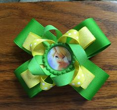 A personal favorite from my Etsy shop https://www.etsy.com/listing/292036523/6-inch-green-and-yellow-tinker-bell