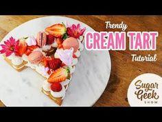 Cream Tart Tutorial! #biscuit #creambiscuit #creamtart https://youtube.com/watch?v=q1htWfVKYPQ