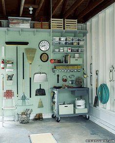 organizing my little garage