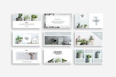 Rigel Social Media Pack by SlideStation on @creativemarket