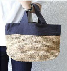 Diy Crafts - Model Handbag - The World of NaLaN: diy recycling crochet recipes . Diy Recycling, Crochet Shell Stitch, Crochet Handbags, Crochet Bags, Basket Bag, Purse Patterns, Fabric Bags, Knitted Bags, Tote Bag
