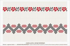 Semne Cusute: romanian traditional motifs: MOLDOVA - Vaslui - sat: Oniceni