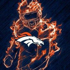 Broncos on fire