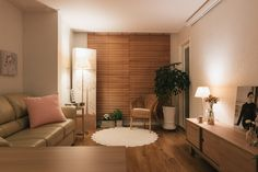 Condo Interior Design, Apartment Interior, Room Interior, Small Living Rooms, Home Living Room, Living Room Decor, Living Room Korean Style, Minimalist Home Interior, Small Apartment Decorating