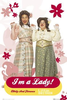 Little Britain is our favourite all-time sketch! American Wives, Little Britain, Etiquette, Disney Princess, Disney Characters, Lady, England, Gym, Excercise