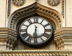 The famous clock of Charminar