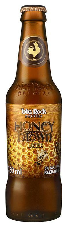 Big Rock Honey Brown Lager #craftbeer #bigrockbeer http://bigrockbeer.com/beer/signature-series