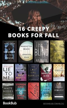 16 Creepy Books to Read with Your Book Club This Fall Dive into the chill of fall with 16 terrifying books, perfect for lovers of horror fiction or dark thrillers! Best Books To Read, I Love Books, My Books, Dark Books, Best Books Of All Time, Books To Read In Your 20s, Horror Fiction, Horror Books, Fiction Books
