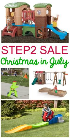 Step2 Christmas in July Sale plus exclusive step2 coupon code for Frugal Coupon Living readers. Take a look at some of my favorite picks!