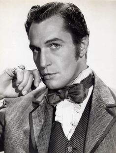 """Vincent Price in """"Dragonwyck"""" He is one of my all time favorite actors! Hollywood Actor, Hollywood Stars, Classic Hollywood, Old Hollywood, Hollywood Glamour, Old Movie Stars, Classic Movie Stars, Classic Movies, Vincent Price"""