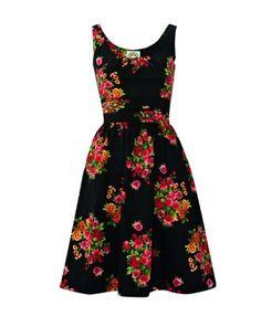 "SWAPPED Bibi Dress by Ruby Belle  Size 16 UK, 12 US, fits like an XL. Measurements 20.5"" armpit to armpit, 17.5"" waist, 40.5"" length. #modcloth"