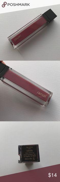Jouer Lip Creme Liquid Lipstick in Cassis Swatched once Jouer Lip Creme Liquid Lipstick in the shade Cassis. Comes without a box. Jouer Makeup Lipstick