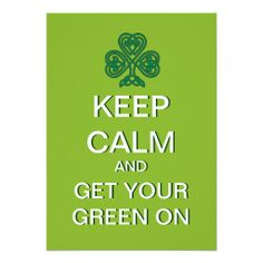 >>>Coupon Code          Keep Calm Get Your Green on St. Patrick Day Invite           Keep Calm Get Your Green on St. Patrick Day Invite in each seller & make purchase online for cheap. Choose the best price and best promotion as you thing Secure Checkout you can trust Buy bestReview          ...Cleck Hot Deals >>> http://www.zazzle.com/keep_calm_get_your_green_on_st_patrick_day_invite-161038963919511698?rf=238627982471231924&zbar=1&tc=terrest