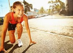 Image result for woman running in the morning
