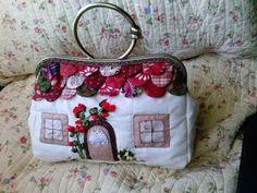 El RinconDeAntonia: BOLSOS Y MONEDEROS. Cute Purses, Purses And Bags, Pouch, Wallet, Cloth Bags, Handmade Bags, Home Crafts, Swatch, Lunch Box