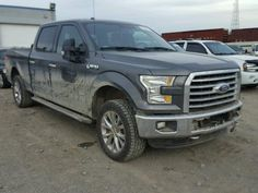 Salvage 2016 Ford F150 Supercrew