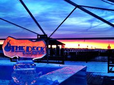 You've gotta check out @ The Deck Restaurant and Bar in Newport  http://goingout.com/ri/venues/248/-The-Deck-Restaurant-Bar