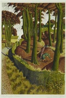 'Hunting for Ceps' By Simon Palmer
