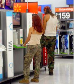 Walmart is the best place to purchase household things but also famous for weird Walmartians. Check 25 people of Walmart that are the best freak show provider of all time. Walmart Shoppers, People Of Walmart, Funny Photos, Funny Texts, Funny Animals, All About Time, Haha, Hilarious, Good Things