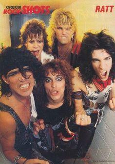 Ratt 80s Hair Metal, Hair Metal Bands, 80s Hair Bands, 80s Rock Bands, Cool Bands, Rock & Pop, Rock And Roll, Heavy Metal, 80s Rock Fashion