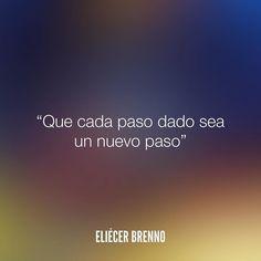 Que cada paso dado sea un nuevo paso Eliécer Brenno  La Causa http://ift.tt/2ggOU9J  #nuevo #quotes #writers #escritores #EliecerBrenno #reading #textos #instafrases #instaquotes #panama #poemas #poesias #pensamientos #autores #argentina #frases #frasedeldia #lectura #letrasdeautores #chile #versos #barcelona #madrid #mexico #microcuentos #nochedepoemas #megustaleer #accionpoetica #colombia #venezuela