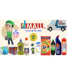 Combo of Home & Personal Care Products