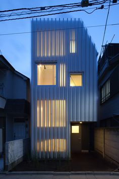 studio noa house in kikuicho... 35m2 site, 19m2 plan (55m2 in total). nice and simple.