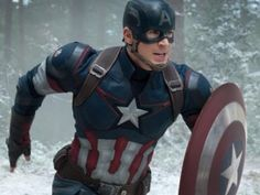 """The Marvel sequel """"Captain America Civil War"""" is reportedly filming a funeral scene, with speculation being it could be Steve Rogers'/Captain America's (Chris Evans) funeral and Bucky Barnes/Winter Soldier (Sebastian Stan) becoming the new Cap. Captain America Civil War, Chris Evans Captain America, Capt America, America Movie, Marvel Avengers, Mary Marvel, Avengers Movies, Superhero Movies, Avengers Quiz"""