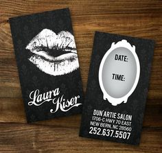 Custom Make-up Artist Business Cards - PROFESSIONALLY printed! affordable and easy - etsy verymaryk