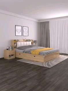 Pooja Room Door Design, Room Design Bedroom, Bedroom Furniture Design, Home Room Design, Room Ideas Bedroom, Small Room Bedroom, Small House Design, Home Design Plans, Bed Furniture