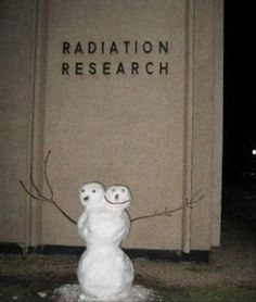 Radiation Research Snowman ;)