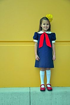 Halloween costume idea....since my future daughter will also have an obsession with Madeline.