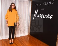 Olivia Palermo.  Love this look.    Sweater by EKforMarciano.com (Elin Kling for Guess)