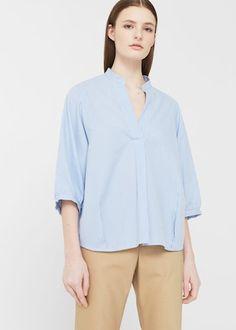 Μπλούζα με φουσκωτό μανίκι | MANGO ΜΑΝΓΚΟ