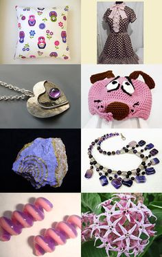 pink and purple by Elena on Etsy--Pinned with TreasuryPin.com