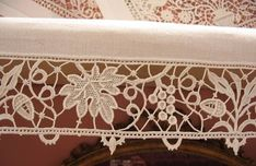 Needle Lace, Bobbin Lace, Point Lace, Tatting Patterns, Pattern Books, Projects To Try, Embroidery, Stitch, Sewing