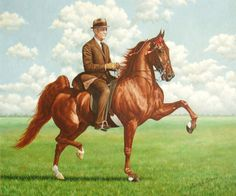MY-MY by Walter L. Brown | American Saddlebred Museum 2006 Auction