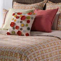 I pinned this from the Cozy Collection - Beautiful Bedding Sets, Pillows, Curtains & More event at Joss and Main!