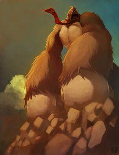 Epic Donkey Kong Portrait - Dorkly Picture