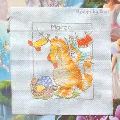 Margaret Sherry: Calendar Cats (March)