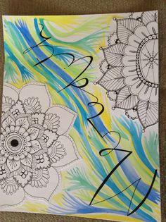 Name art by Josefina Sone