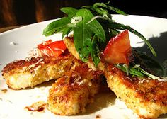 Balsamic Parmesan Crusted Crappie
