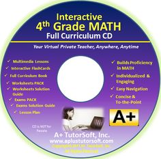 {Review of} A+ TutorSoft CD 4th Grade Math Program
