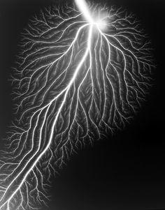 Hiroshi Sugimoto, Lightning fields, 2009