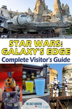 Star Wars: Galaxy's Edge at Disneyland is an immersive experience. Get the complete guide to Disneyland's Star Wars Land before your next visit. Vacation Planner, Cruise Vacation, Disney Vacations, Family Vacations, Family Travel, Disney Travel, Vacation Ideas, Vacation Destinations, Disneyland California