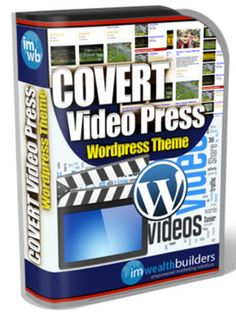 Game Changing WordPress Theme – Covert Video Press