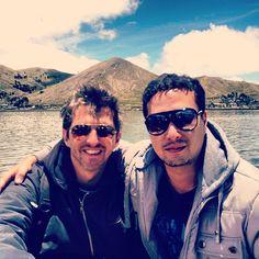 Um dia de domingo. @andrefischer #uros #island - @viniciusyamada- #webstagram