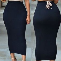 Muslim Women'S Skinny Pencil Thick Skirt Ladies Hips Wrap Bodycon High Waist Elastic Stretch Long Maxi Frauen Pencil Skirts Size S Color Beige Maxi Pencil Skirt, High Waisted Pencil Skirt, Waist Skirt, Pencil Skirt Casual, Pencil Skirt Outfits, Flared Skirt, Ladies Skirts, Sexy Rock, Pencil Skirts