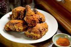 NYT Cooking: As advertised, this version of Nashville hot fried chicken, adapted from Peaches HotHouse in Brooklyn, will make your tongue sizzle and fill your eyes with tears from a combination of cayenne and ghost chile powders. (The latter is the hottest chile in the world, reaching 1,000,000 on the Scoville heat scale.) Note that the recipe calls for both granulated and powdered onion and garlic. Try to use both. The powdered stuff is stronger in flavor while the granulated has a little…